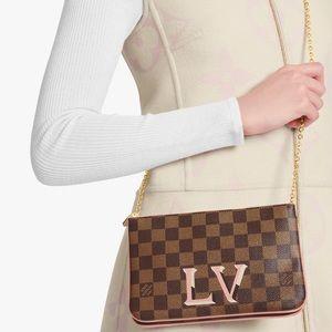 💎BEAUTIFUL💎double zipper Louis Vuitton